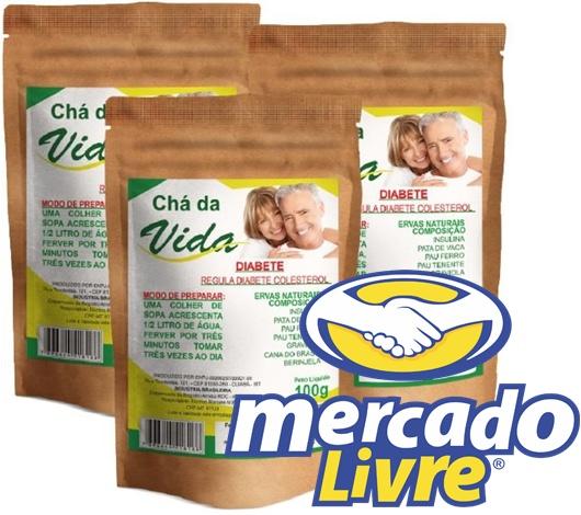 Chá da Vida no Mercado Livre